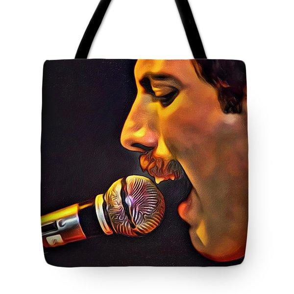 Freddie Mercury 2 Of 4 Tote Bag