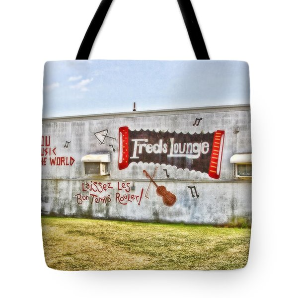 Fred's Lounge Tote Bag