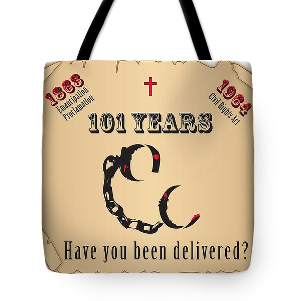 Free At Last Tote Bag by Jerry Ruffin