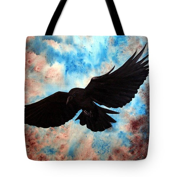Free Bird Tote Bag by Oddball Art Co by Lizzy Love