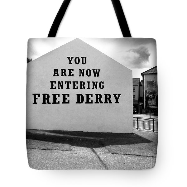 Free Derry Corner 9 Tote Bag