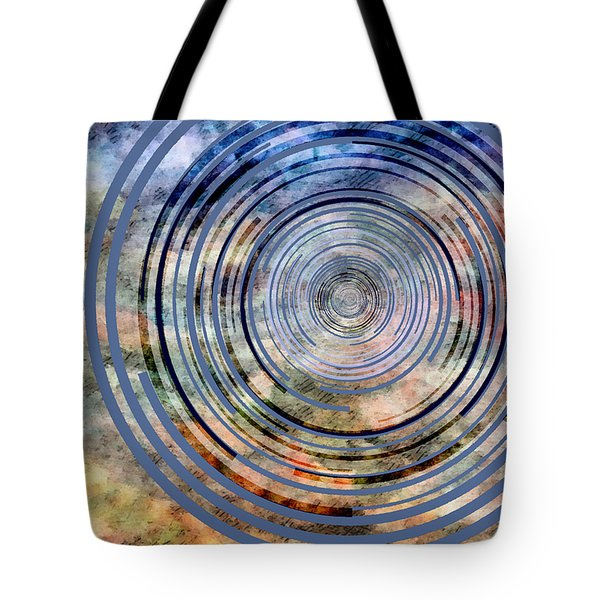 Free From Space And Time Tote Bag by Angelina Vick