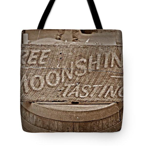 Free Moonshine Tote Bag