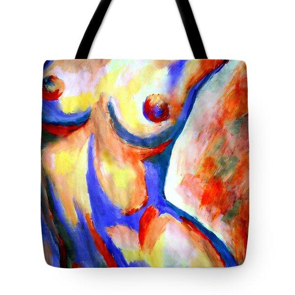 Free Soul Tote Bag by Helena Wierzbicki
