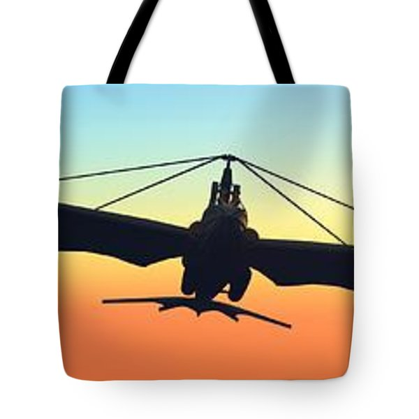Tote Bag featuring the digital art Free... by Tim Fillingim