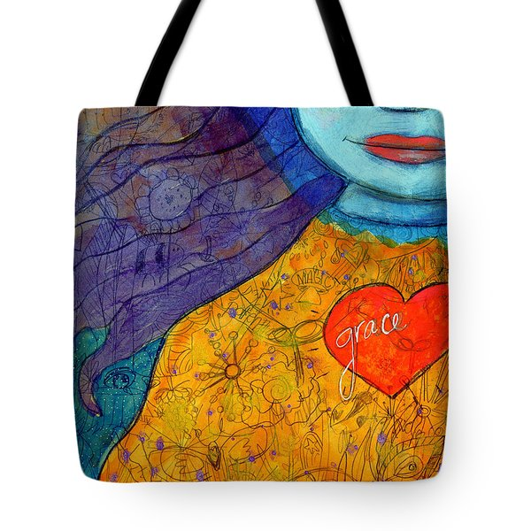 Free Your Mind And Grace Will Follow Tote Bag