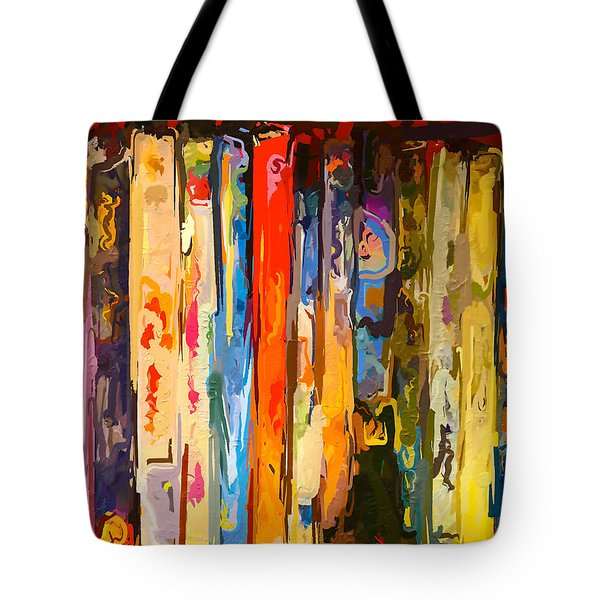 Free Your Mind Tote Bag by Claudia Ellis
