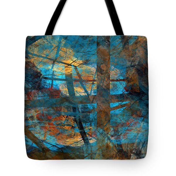 Tote Bag featuring the digital art Free Your Mind  by Menega Sabidussi