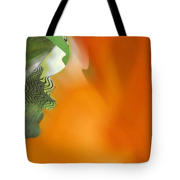 Tote Bag featuring the digital art Freed by Roy Erickson