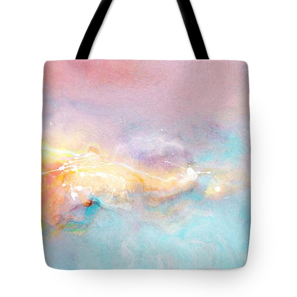 Freedom - Abstract Art Tote Bag by Jaison Cianelli