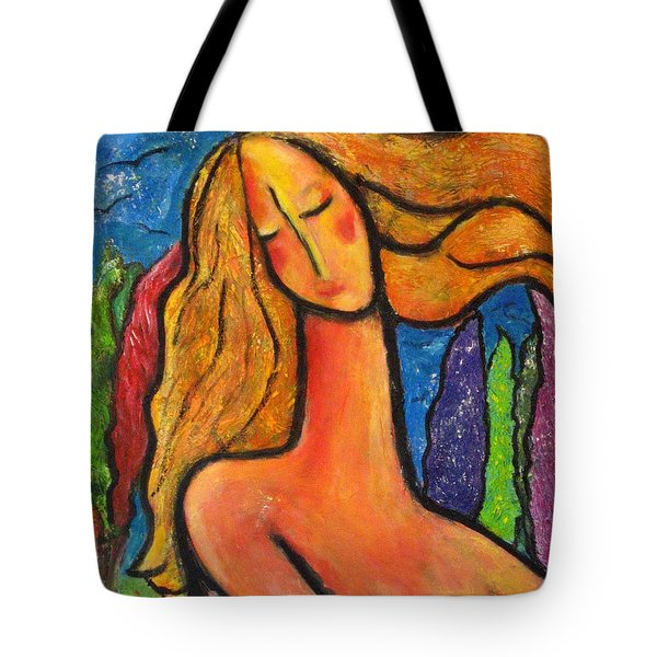 Freedom Tote Bag by Chaline Ouellet