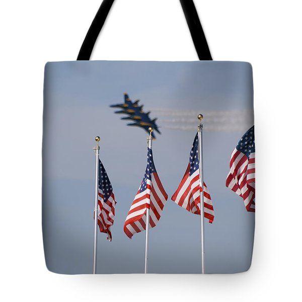Freedom Flying Tote Bag