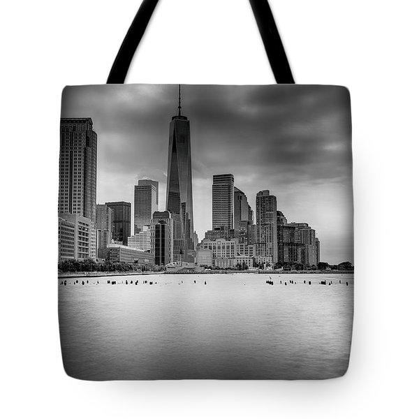 Freedom In The Skyline Tote Bag