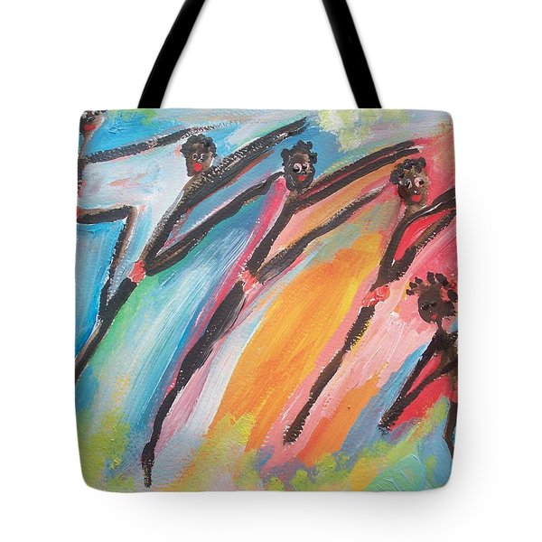 Freedom Joyful Ballet Tote Bag