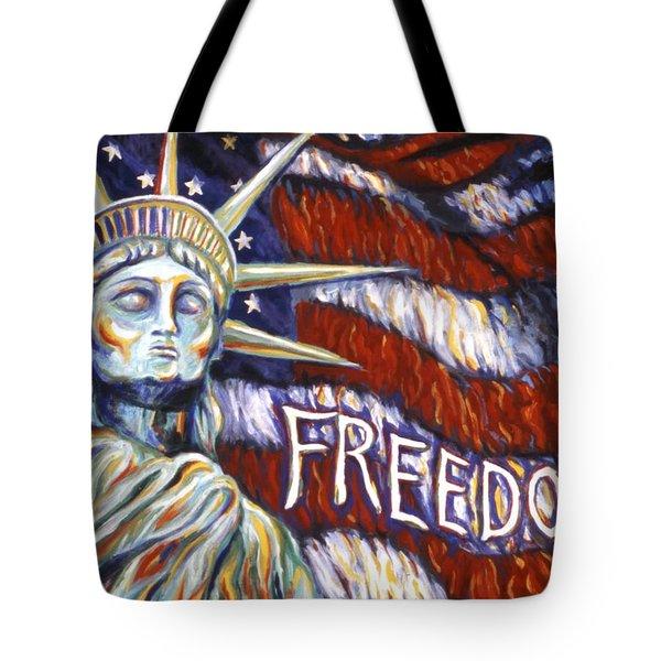 Freedom Tote Bag by Linda Mears