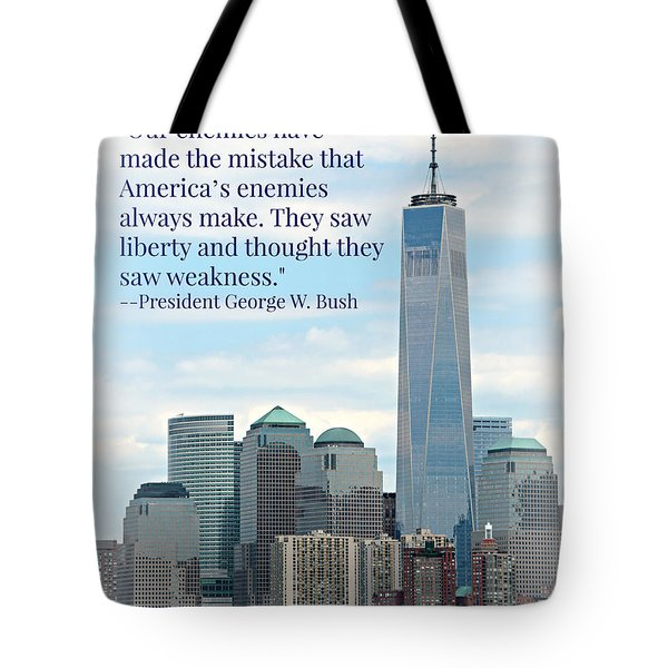 Freedom On The Rise Tote Bag