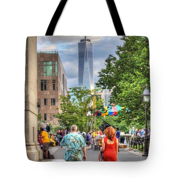Freedom Tote Bag by Rick Kuperberg Sr
