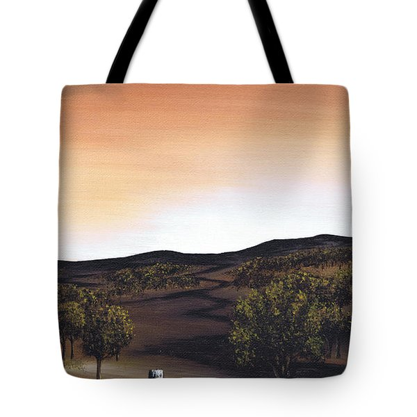 Freedom Road Tote Bag by Kenneth Clarke