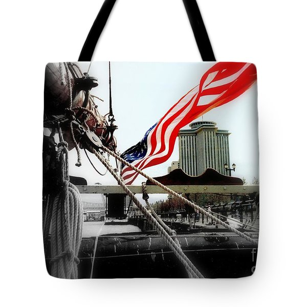 Freedom Sails Tote Bag