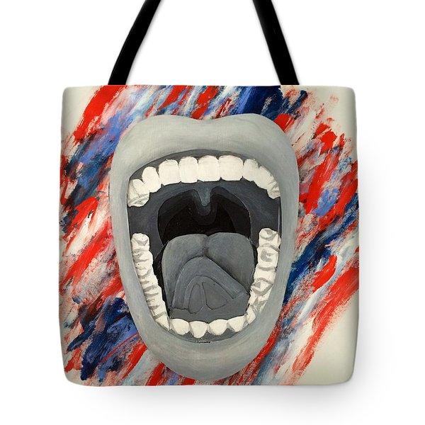 Americas Voice Tote Bag by Scott French