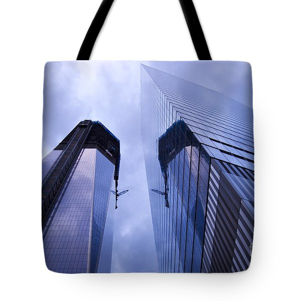Freedom Tower Ground Zero New York City Tote Bag by Sabine Jacobs