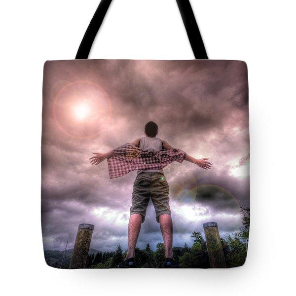 Freedom Tote Bag by Yhun Suarez