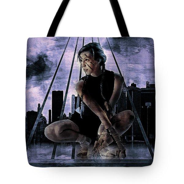 Freerunning Nyc Tote Bag
