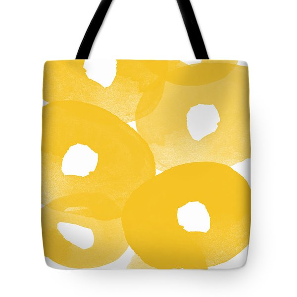 Freesia Splash Tote Bag