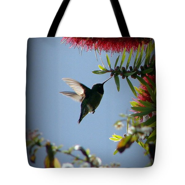 Freeze Tote Bag by Priscilla Richardson