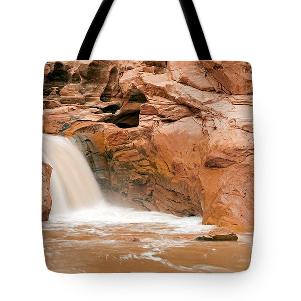 Fremont River Falls Capitol Reef National Park Tote Bag
