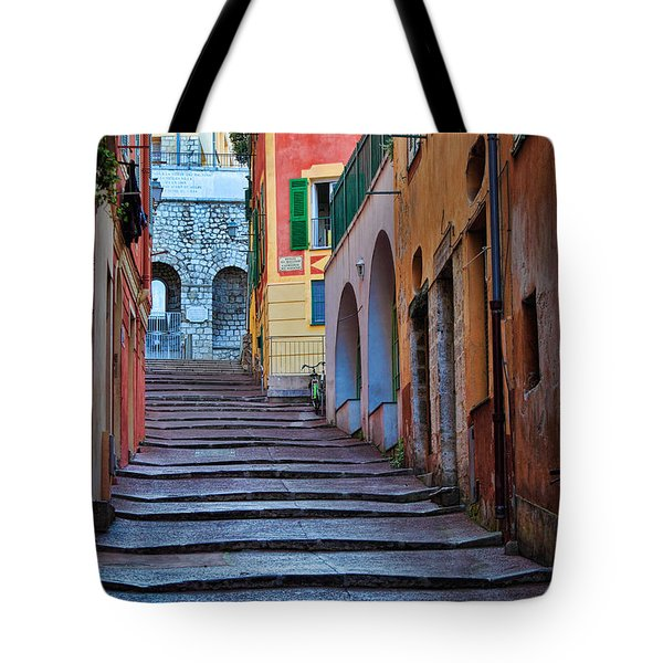 French Alley Tote Bag by Inge Johnsson