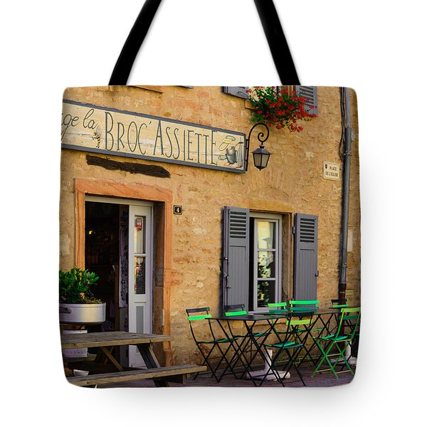 Tote Bag featuring the photograph French Auberge by Dany Lison