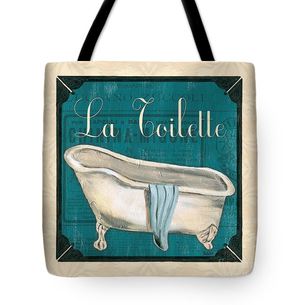 French Bath Tote Bag