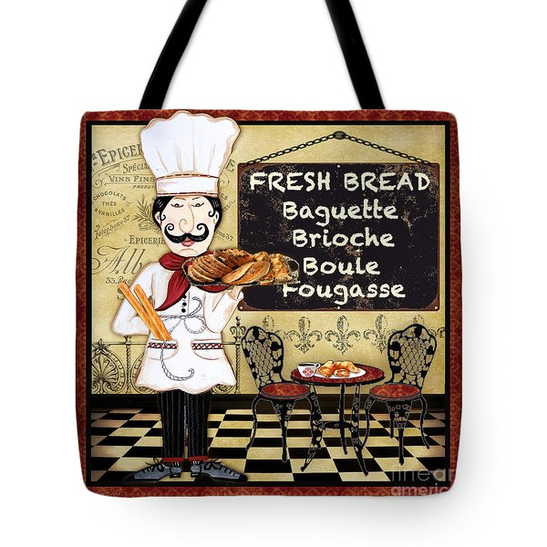 French Chef-a Tote Bag