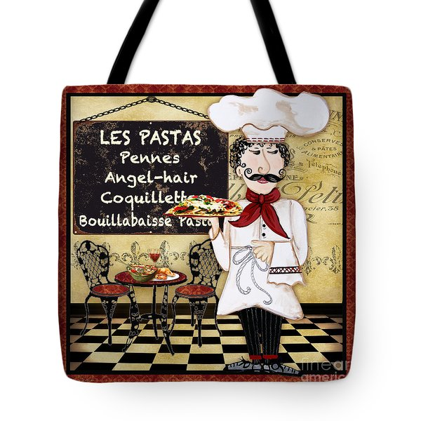 French Chef-c Tote Bag
