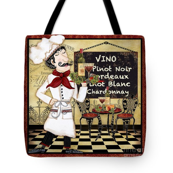 French Chef-d Tote Bag