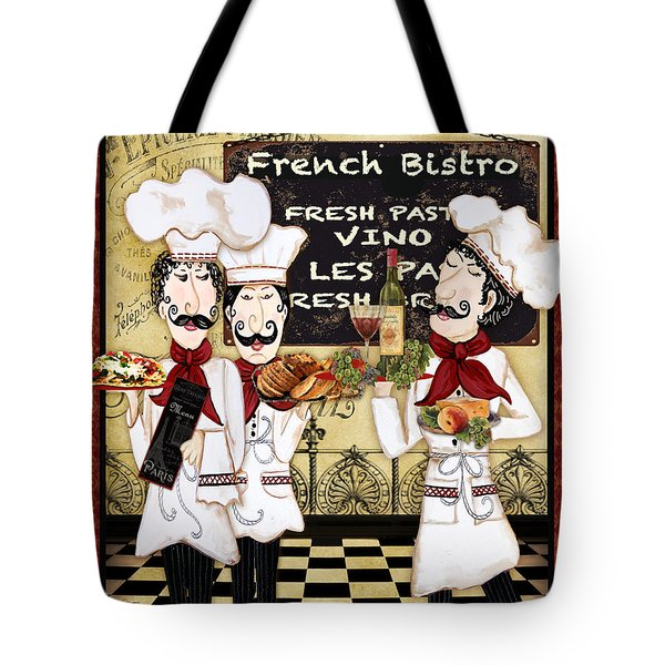 French Chefs-bistro Tote Bag