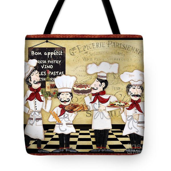 French Chefs-bon Appetit Tote Bag