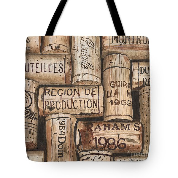 French Corks Tote Bag