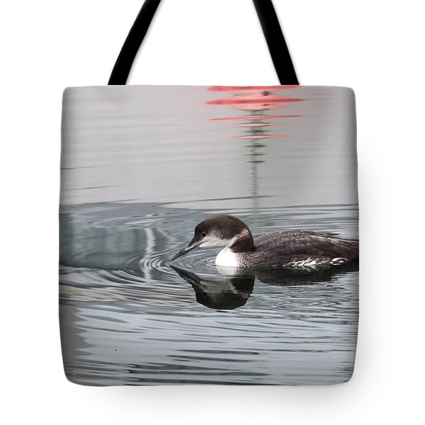 French Creek Loon Tote Bag