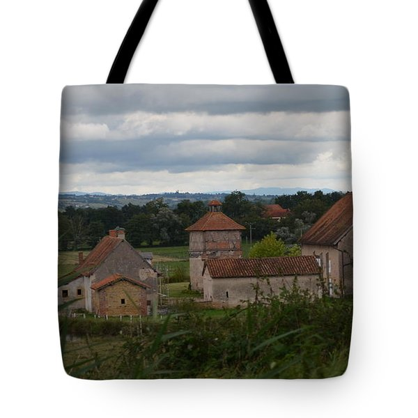 French Farm House Tote Bag
