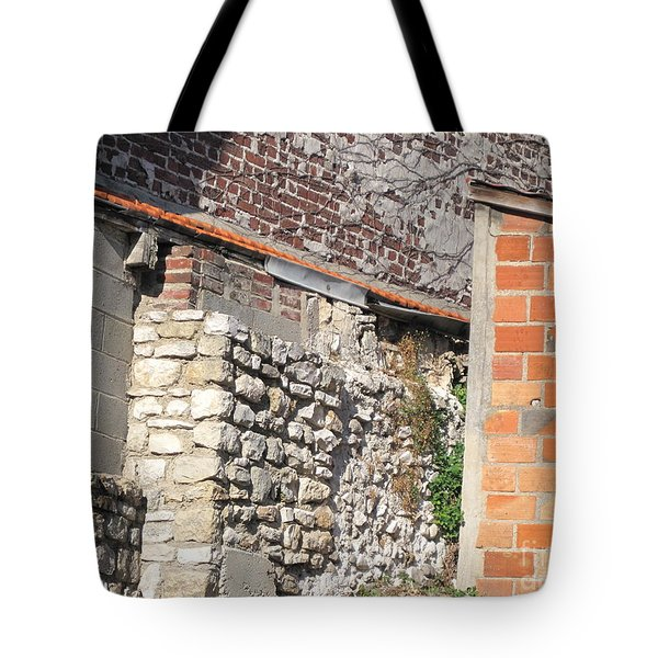 French Farm Wall Tote Bag by HEVi FineArt