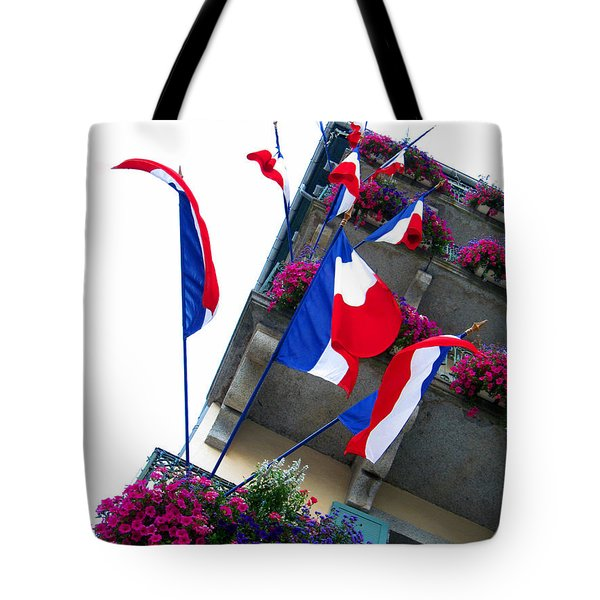 French Flags Tote Bag