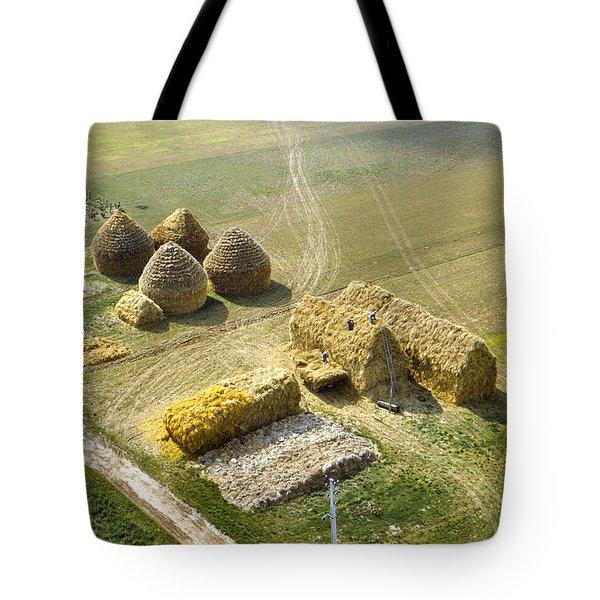French Haystacks Tote Bag