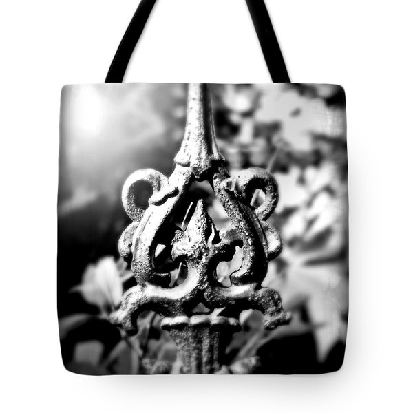 French Iron Tote Bag by Perry Webster