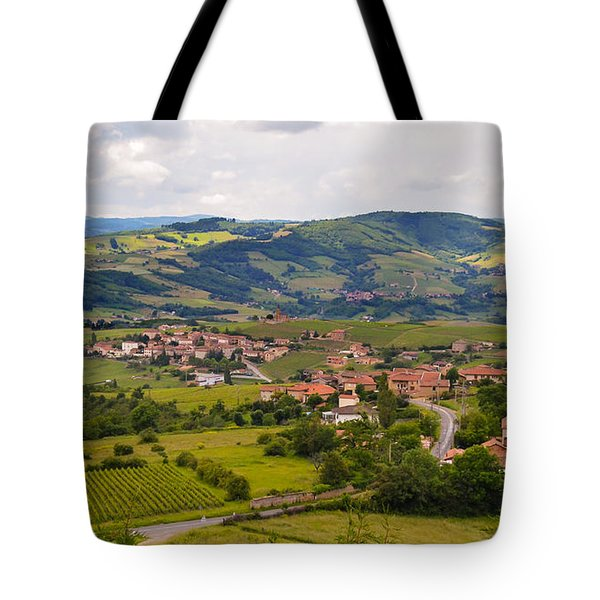 French Landscape 2 Tote Bag by Allen Sheffield