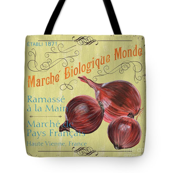 French Market Sign 4 Tote Bag by Debbie DeWitt