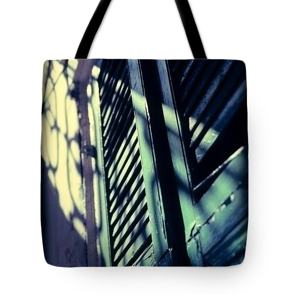 Tote Bag featuring the photograph French Quarter Doors by Carol Whaley Addassi