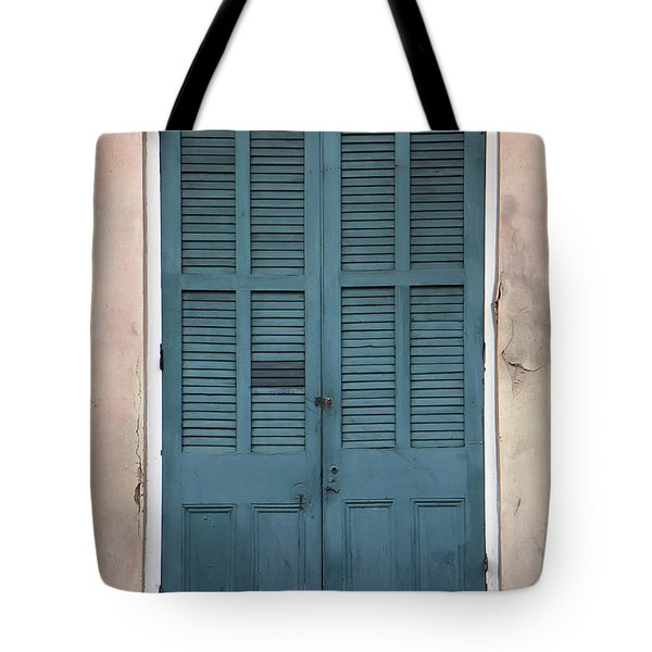 French Quarter Doors Tote Bag