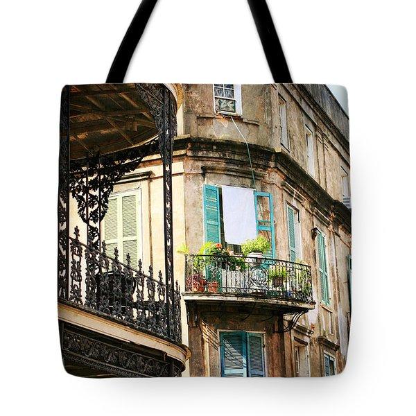 French Quarter Morning Tote Bag